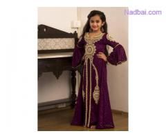 Kaftan dress for kids available at Mirraw