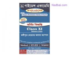 Admission Going On for Class XI & Medical NEET/IITJEE/WBJEE