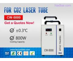 CW5000 Water Chiller for CO2 Laser Cutting Machine 220/110V 50/60Hz