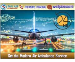 Book Air Ambulance in Delhi with Suitable Medical Aid