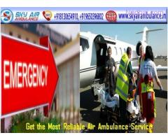 Pick Sky Air Ambulance in Delhi with Perfect Medical Aid