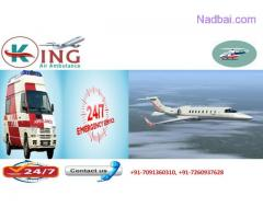Get Low Fare King Air Ambulance in Ranchi with Best Medical Service