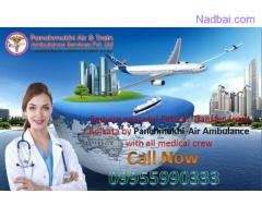 Book Finest Medical Support Air and Train Ambulance in Vellore