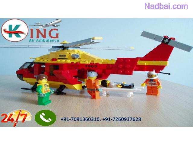 Now Get Very Fast Patient Shifting Air Ambulance from Dimapur by King