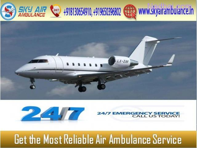 Take Benefit of Emergency Air Ambulance from Delhi at an Inexpensive cost