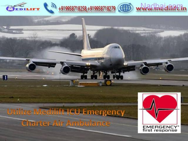 Pick Life-Saving Emergency Air Ambulance Service in Delhi
