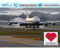 Pick Life-Saving Emergency Air Ambulance Service in Delhi