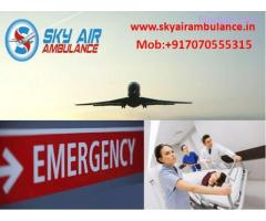 Take Benefit of Sky Air Ambulance from Kolkata with Experienced Medical Team