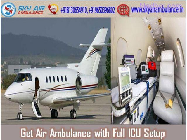 Get Reliable and Brilliant Emergency Air Ambulance in Delhi