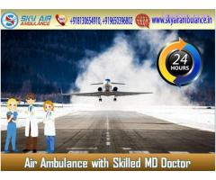 Pick a Reliable Air Ambulance in Mumbai with Proper Medical Service