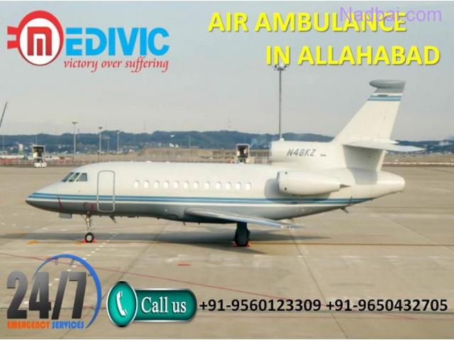 Utilize Excellent Medical Care Special Charter Air Ambulance in Allahabad by Medivic