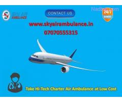 Receive Hi-tech ICU Air Ambulance Service in Silchar with MBBS Doctor
