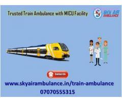 Utilize Advanced MICU Based Train Ambulance in Jamshedpur