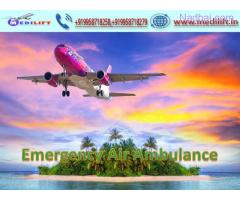 Take Fast Patient Transfer Air Ambulance in Bagdogra by Medilift
