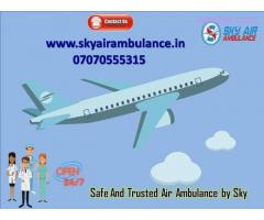 Get the Lowest Cost Emergency Air Ambulance from Kolkata