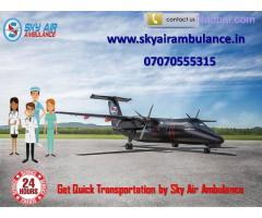 Use Sky Air Ambulance Service in Jamshedpur Quick Patient Facility