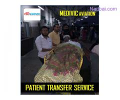 Doctors Facility Medivic Air Ambulance Service in Delhi