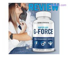 Ignited Labs G Force Reviews- Price, Ingredients, Side Effects