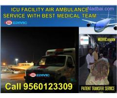 Air Ambulance Service in Chandigarh by Medivic Aviation