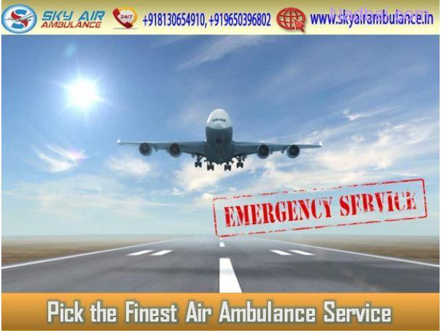 Select Air Ambulance in Kolkata with Entire Medical Tool