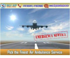 Select Air Ambulance in Kolkata with Entire Medical Tool