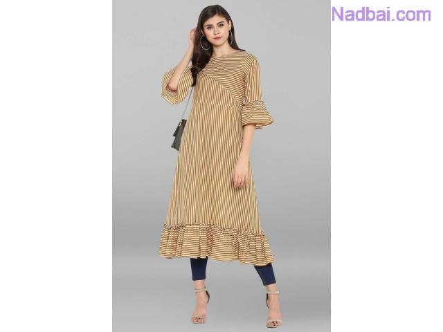 Shop Cotton Kurtis for Women Online At Mirraw