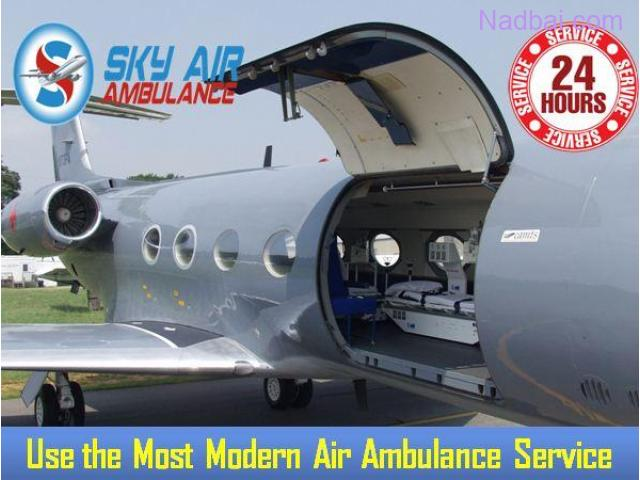 Utilize Sky Air Ambulance from Patna with Superb Medical Facility