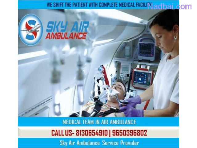 Use Air Ambulance from Delhi with Entire Modern Medical Assistance