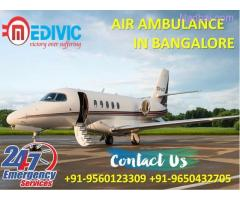 Quick and Safe Transport by Medivic Air Ambulance Service in Bangalore