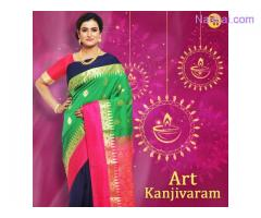 Get pure and authentic south silk sarees from Banarasi Niketan